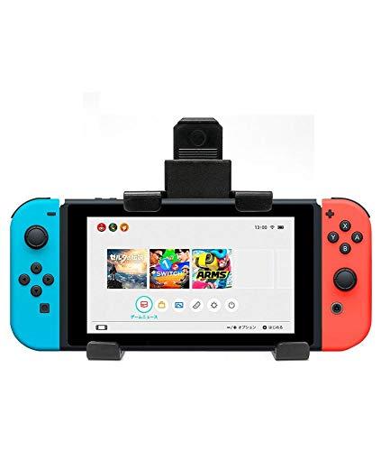 Girafus Supporto Auto per Nintendo Switch/iPad Mini/Galaxy Kindle Tablet da 4-8 Pollici Rotazione a 360° Porta Cellulare per Sedile Posteriore POGGIATESTA Auto - Car Holder Nero