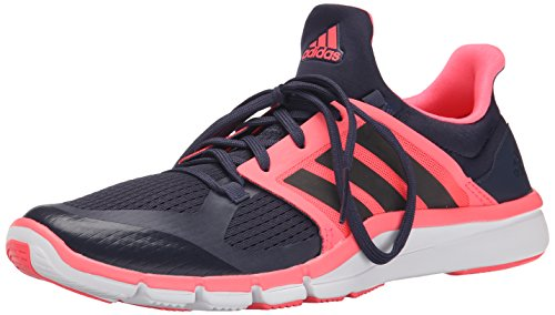 Adidas Performance Adipure 360,3 W Chaussure d'entraînement, noir / gris métallisé / congelé Midnight Grey/Grey Metallic/Flash Red/Pink