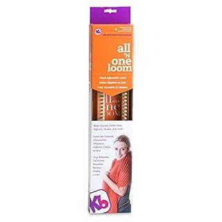 "Authentic Knitting Board KB Looms-18 All-n-One Loom, Beige, 19"" X 3.5"" X 2"""