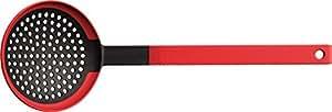 Woll ku006Cook de it Écumoire avec fibre de verre verst ärktem Poignée et silicone lèvres jusqu'à 260°C Résiste à la chaleur, 11x 32cm