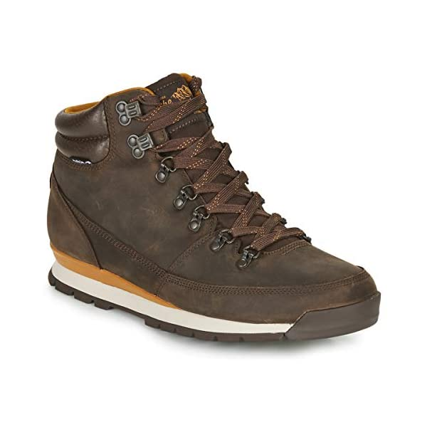 THE NORTH FACE Men's Back-to-Berkeley Redux Leather High Rise Hiking Boots 1