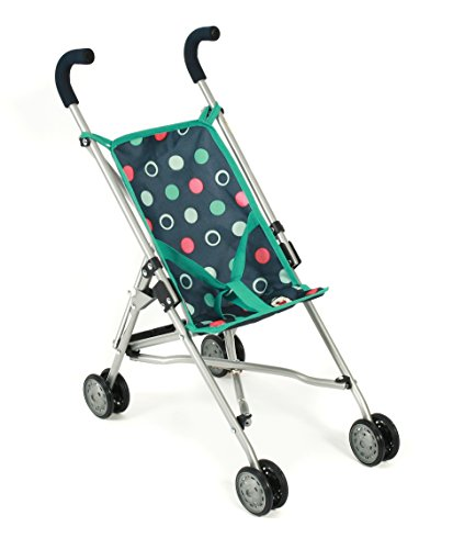 Bayer Chic 2000 601 21 - Mini-Buggy Roma, Puppenwagen, Menta, Navy-Mint