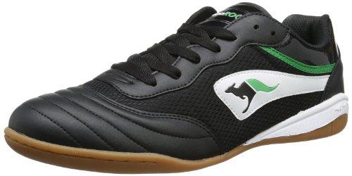 KangaROOS Goal Line 14, basket mixte adulte Noir - Schwarz (black/white 500)