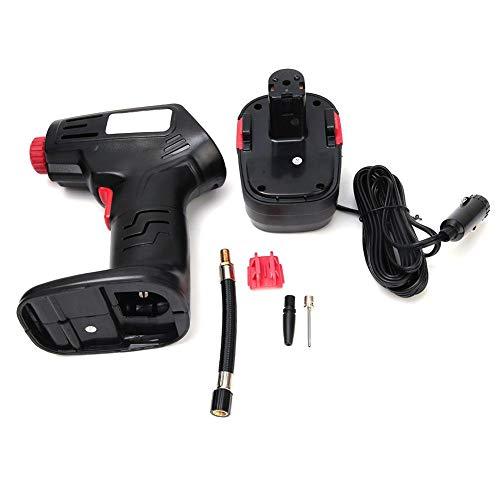 Hochdruck Reifenfüller Pumpe Werkzeug 100 PSI 12 v Tragbare Luftkompressor Inflators für Autoreifen Ball Adapter Zubehör -