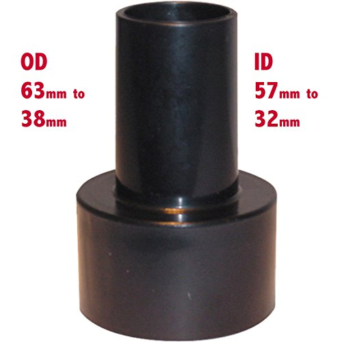 Staub-Extractor Hose mit Reducer 63/37OD 63mm, 38mm,-50mm bis 32mm, zur Reduzierung von Kegel Adapter Adapter (Staub-schlauch)