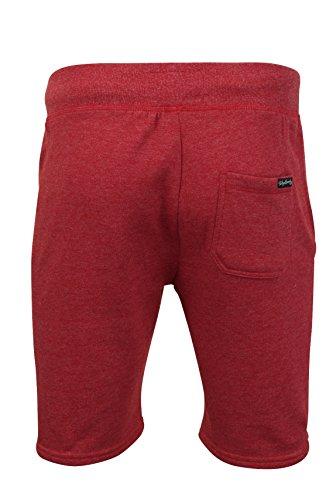 Tokyo Laundry Herren Shorts 'Beaverton' Tokyo Red Marl