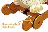 Labebe Schaukeltier Giraffe mit Rädern - 6