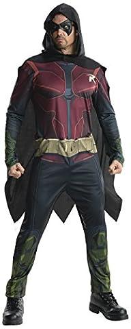 Arkham Robin Costumes - Arkham Robin - Adulte Costume Robe -