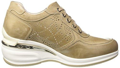 Nero Giardini P717052d_406, Sneaker a Collo Basso Donna Beige (406)