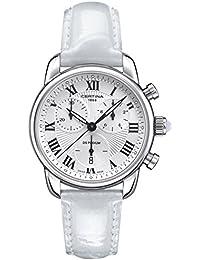 Certina Damen-Armbanduhr XS Chronograph Quarz Leder C025.217.16.018.01