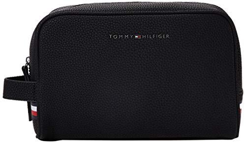 Tommy Hilfiger ESSENTIAL WASHBAGHombreMonederosNegro (Black) 10x15.5x24.5 centimeters (B x H x T)