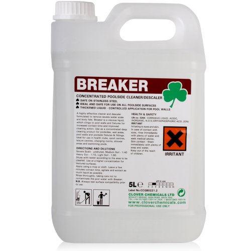 Breaker Swimming Pool Side Cleaner (5L) - Comes With TCH Anti-Bacterial Pen!