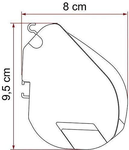 Fiamma F35 Pro 300cm 3m Caravan & Camper Van Awning Deluxe Grey/Titanium 06762D01T 2