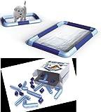 Georplast - Marco Todo en Uno - Kit de montaje para alfombrillas higiénicas absorbentes de cualquier tamaño