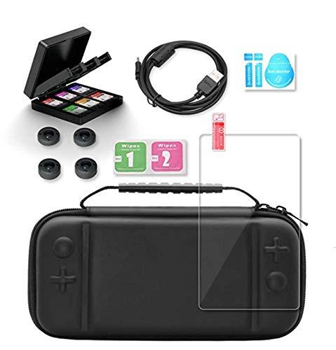 Keten Ensemble D'accessoires 12 en 1 pour Nintendo Switch Lite, Étui de Nintendo Switch Lite/Étui...