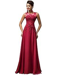 abce54bc GRACE KARIN Maxi Chiffon Wedding Bridesmaid Dress A-Line Long Evening Ball  Gowns Dress UK