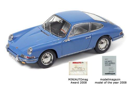 M-067D,Porsche 901, 1964 emailblau lim 5000, 1:18 CMC [Spielzeug]