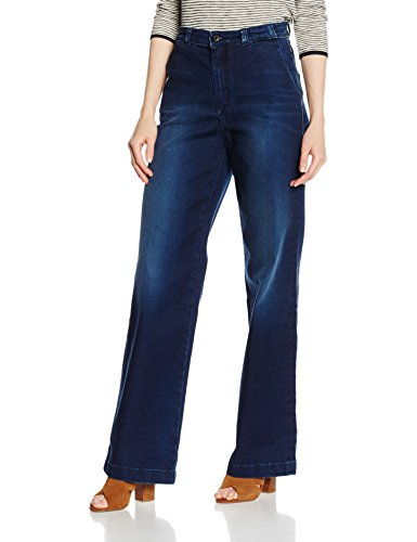 Marc O'Polo Damen Jeanshose 607910712241, atlantic blue wash 095, W28 / L32 (Wide Jean High Leg Rise)