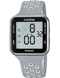 CALYPSO Reloj Unisex Digital Caucho Gris - K5748-4
