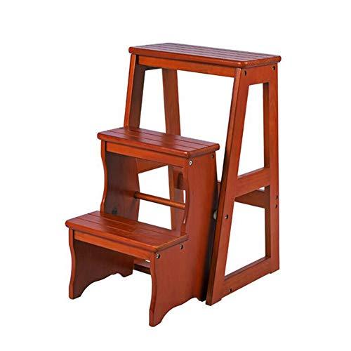 XUERUI Klappstühle Schemel Schritt Falten Leiter Stuhl Klettern Hoch rutschfest Trittleiter Tragbar Dual-Use Möbel Stühle (Color : T2) - T2 Pick