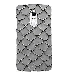 HiFi Designer Phone Back Case Cover Lenovo Vibe X3 ( Colorful Pattern Design Grey )