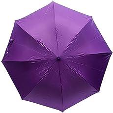 Citizen 3 Fold Umbrellas - Plain Multicolored-Pack of 1