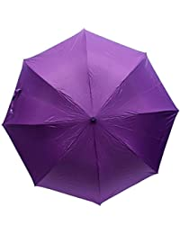 Citizen 3 Fold Umbrellas - Plain Multicolored-Pack of 1