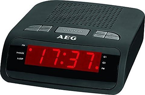 AEG MRC 4142 Uhrenradio Einschlafautomatik, 24