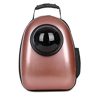Space Capsule Bubble, Estuche portátil Transpirable para Gatos, Mochila Suave y cómoda, Bolsa de Viaje para Mascotas, Mochila portátil para Llevar Burbujas de FLHLH.CO