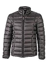 James & Nicholson Herren Jacke Jacke Men's Quilted Jacket schwarz (Black) XXX-Large