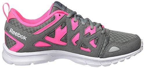 Reebok Damen Run Supreme 3.0 Laufschuhe Grau (Flint Grey/solar Pink/pewter/white)