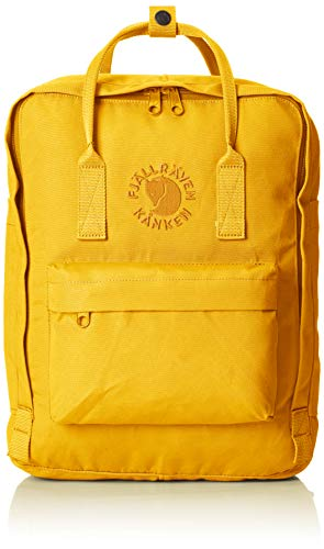 Fjällräven Re-Kånken Rucksack, 38 cm, 16 Liter, Sunflower Yellow