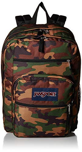 10a3e900b92 JANSPORT Big Student Backpack Surplus Camo Schoolbag JS00TDN74J9 Rucksack  JANSPORT Bags