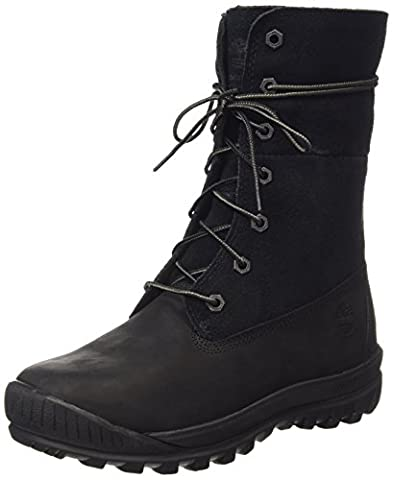 Timberland Mount Holly Ftw_woodhaven Fleece Roll Down Wp Ins, Women's Ankle Boots, Black, 7.5 UK (41 EU)