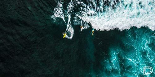 Towee schnelltrocknendes Handtuch, ultraleight sporthandtuch, mikrofaser reisehandtuch Ocean, 80 x 160 cm