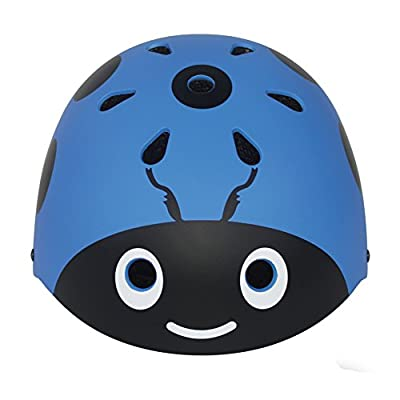 LANOVAGEAR Boys Girls Ladybug Cycling Multi-Sport Safety Bike Skating Scooter Helmet by LANOVA