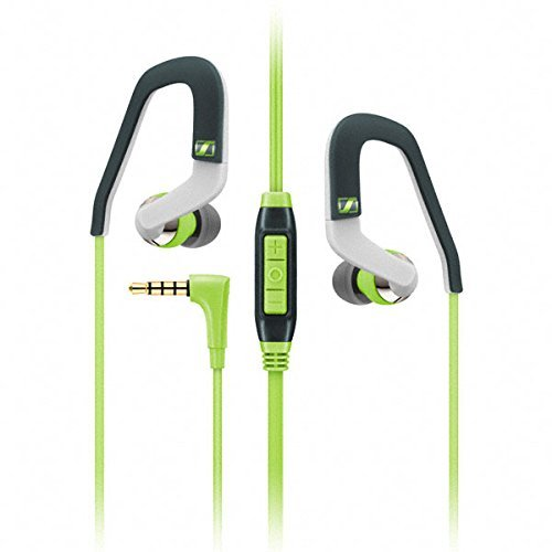 Sennheiser 0CX 686G Sports Microcuffia, Versione Samsung Galaxy, Verde/Antracite