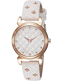 Giordano Analog White Dial Women's Watch - 2794-06