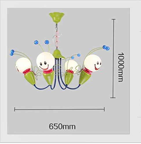Kinderschlafzimmerlampe LED-Deckenleuchter kreative Cartoon junge Mädchen Kinder-Augen-Bee Kinderzimmer Lampen Beleuchtung ( größe : 4 ) - 3