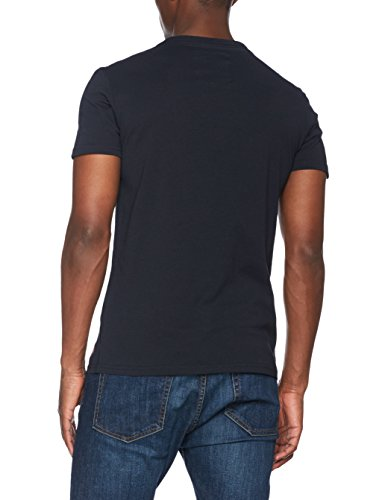 Superdry Herren T-Shirt Premium Goods Lite Blu (Eclipse Navy)