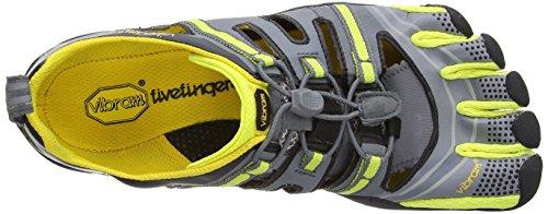 Vibram  Treksport Sandal,  Herren Trekking- & Wanderschuhe Grey/Yellow/Black