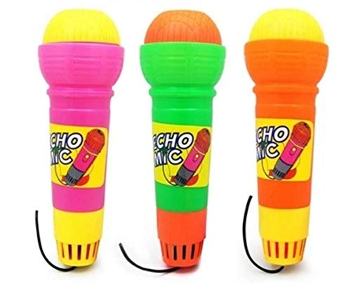 ZoraQ Kinder pädagogische Musik Spielzeug Geburtst Kinder Echo Mikrofon Spielzeug Baby Horn Musikinstrument (zufällige Farbe)