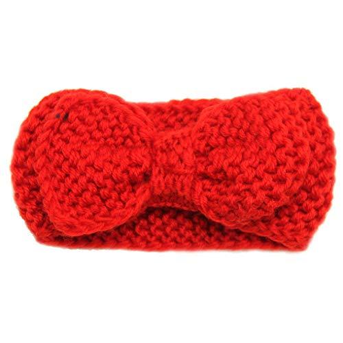 Beaums Bonbon-Kinder-Haar-Band Gestrickte Stirnband für Kinder Kleinkind-Säuglingskopfschmuck-Verpackungs-Zubehör