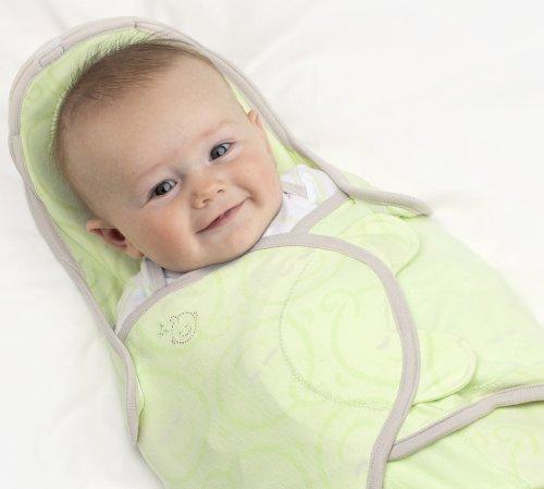 Soothetime Snooze Swaddle Babydecke, Rosa, geometrisches Muster, für Babys von 0-3 Monaten