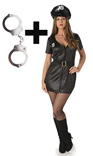 My Illusions Risky Cop Medium + Handcuffs