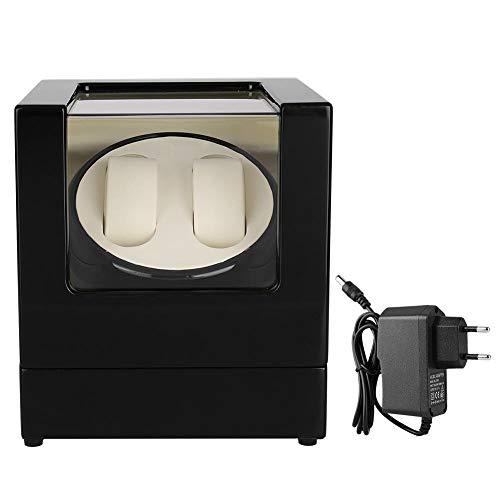 AYNEFY Uhrenbeweger Uhrendreher,100-240V Uhren Watch Winder für Automatikuhren Automatische Uhrenbeweger Box Automatikuhren Watch Winder (4+6) - (31 * 12.5 * 18 cm)