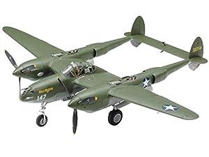 Tamiya 300061120 US P-38 F/G - Maqueta de Coche (Escala 1:48, plástico, Montaje sin lacar)