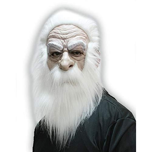 Unbekannt Aptafêtes-mahal298-Maske Magier mit Haar und Schnurrbärte-Einheitsgröße
