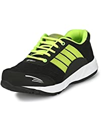 Fleetfoot Men's Green And Black Casual/Running Sports Shoes PU Sole -