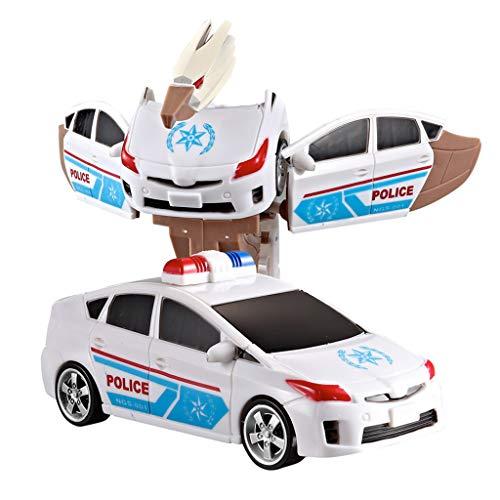 (Jamicy  Intellektuelles Spielzeug, Dinosaurier-Modelle Spielzeug, Verformung Dinosaurier-Roboter, Automodell Classic Toy Action Figure Geschenk Kinder (Blau))